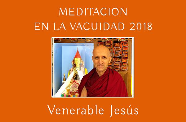 MEDITACION EN LA VACUIDAD 2018